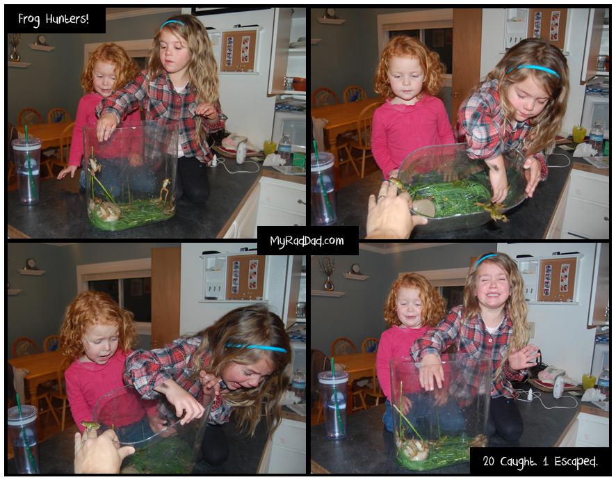 Frog Hunting Kids