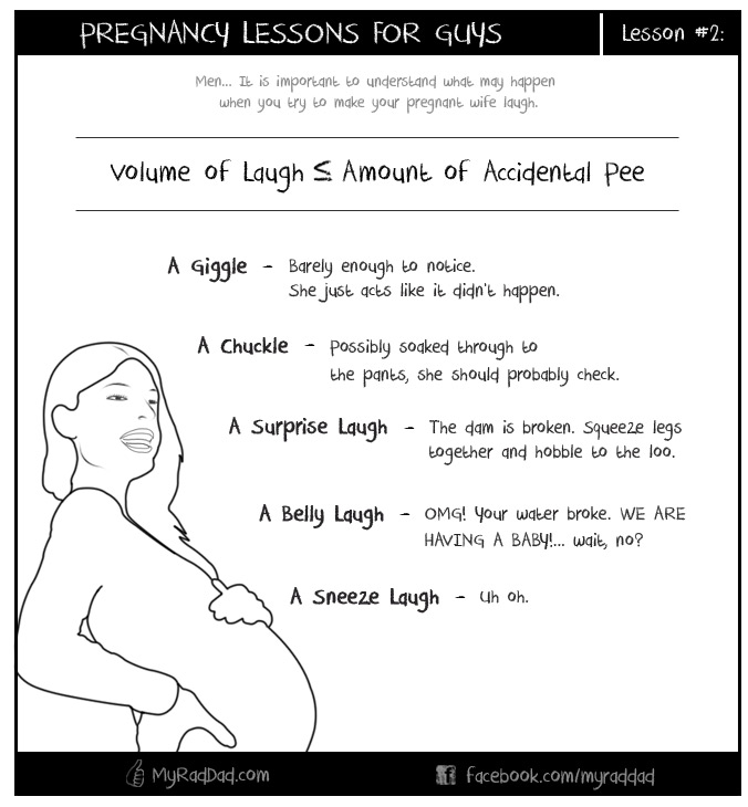 Pregnancy Lesson #2 - Laughing